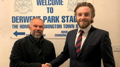 WORKINGTON Town appoint Tom McKeating to board of directors!