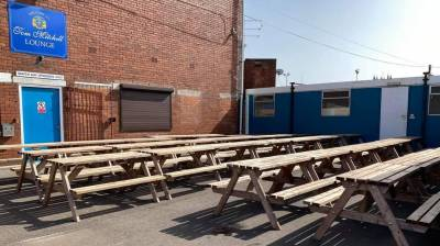 WORKINGTON TOWN RLFC BEER GARDEN ON THE WAY!